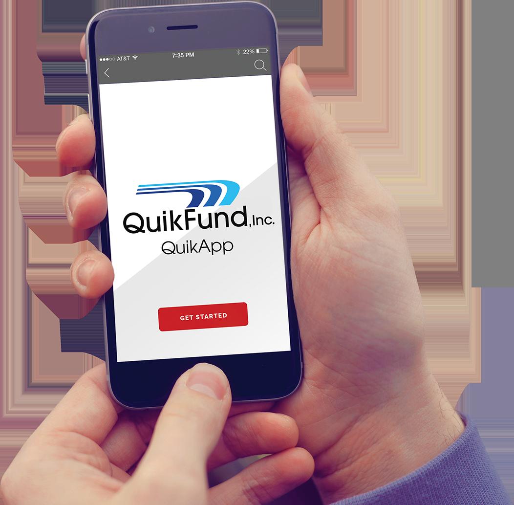 quikfund mortgage process
